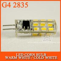 10pcs/lot LED Bulb lamp SMD 2835 G4 5W 24LED Corn Light 220V 360 Degree Replace Halogen Lamp