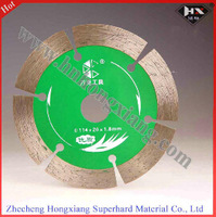 115mm segmented diamond saw blade on 0.8usd,  Minimum order is 1000 pieces.