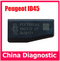 10pcs free shipping for Peugeot ID45 Chip for Peugeot ID45 transponder chip ID45 Carbon for Peugeot Transponder Chip