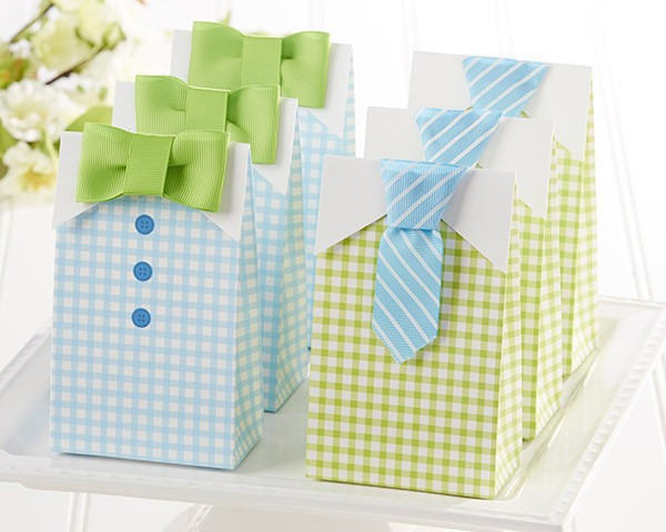 Wholesale and retail fashion baby shower favor boxes gift packaging