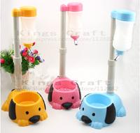 NEW!  Adjustable Feeder For Pet Dog / Cat Drinking Water Dispenser / Small Dog Food Bowl, Removable Dog Cat Water Dispenser