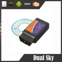 Promotion factory Price ! ELM327 wifi Original elm327 obd ii elm 327 WIFI OBDII OBD2 For Android PC iPhone iPad Car