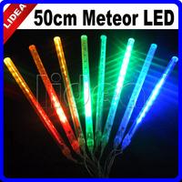 50cm Tube New Year Colorful Tubes LED Meteor Shower Rain Light String Outdoor Decorative Fairy Christmas Lights CN C-28