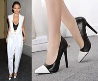 Pointed Toe High Heels Women Pumps Shoes 2014 Brand New Design Less Platform Pumps