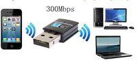 300Mbps 300M Mini Wireless USB WiFi Wi Fi Wi-Fi Adapter LAN Internet Network Adapter 802.11n/g/b Free Shipping
