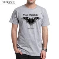 2014 new drama printing T shirt libersoul rights Ravens game three short-sleeved t-shirt men shirt100% cotton fashion T shirts