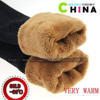 2014 New Autumn and winter thick plus velvet thickening Women's berber fleece warm cotton pants jeggings plus size