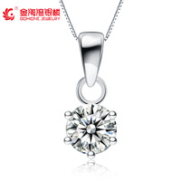 925 pure silver necklace female hearts and arrows cubic zircon short design silver jewelry of jewelry birthday gift