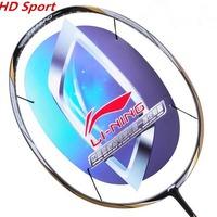 Original li ning badminton racket olympics game carbon racket g4 675mm 1 piece badminton bag high quality free shipping