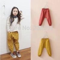 New 2014 autumn&spring fashion girls child cotton harem pants kids bloomers baby casual harem pants
