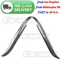 for 1997-2003 BMW E39 525I 528I 530I 540I M5 Real Carbon Fiber Headlight Eyebrows Eyelids Cover
