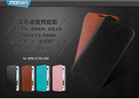 MOFI PU Leather Case For HUAWEI G730 Colorful High Quality Side-Turn Case+ Retailed Package + Free Shipping