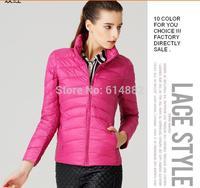 FACTORY SALE ! Down jacket women 2014 winter short design down coat Slim warm winter outwear D35