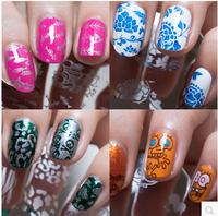 10pcs/lot   100 Different Designs  QA1-98  Nail Stamping