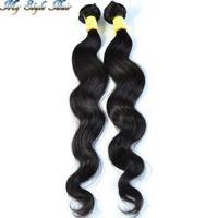 "Peruvian virgin Body Wave 2pcs/lot 100g/bundles(10""-36"") unprocessed super soft Natural Hair Extension,rosa luvin queen products"