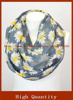 Sunflower Infinity Scarf From Yiwu