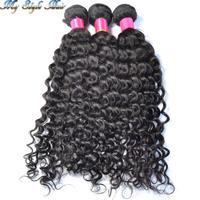 Virgin Brazilian Curly unprocessed human hair extensions,3pcs/lot brazilian virgin hair bundles,afro kinky curl hair weaves