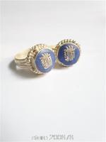 R190  Tibetan siver Amulet Kalachakra Rings Tibet Nepal Blue Lapis Silver finger ring