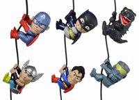 "Free shipping NECA Scalers 2"" Characters Wave 3 Godzilla Batman Gypsy Danger Thor Superman Figure New in Box"