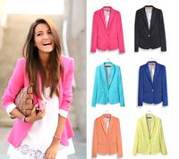 D20 New Women Autumn plus size XS-XL Cotton Blends stylish comfortable jacket coat Blazers Female Slim Small Suit outwear jacket