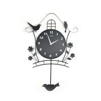 Modern decoration wall clocks brief fashion pocket watch silent swing cartoon personalized wall clock