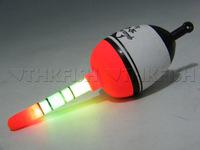 Promotion New! 5pcs 30g EVA float + 10pcs Glow stick Fishing Floats Luminous Lighting Floats