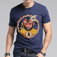 Fashion male short-sleeve T-shirt men's clothing plus size 100% cotton o-neck HARAJUKU