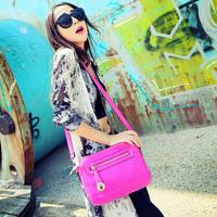 Cat bag autumn fashion all-match sewing thread embroidery women's handbag messenger bag m05-131