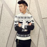 2014 New Autumn Man Sweater New Korean Fashion Cardigan Sweater Men's Sweater Coat Free shipping
