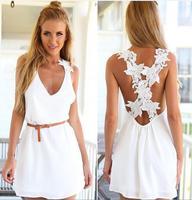 Free Shipping Autumn Summer 2014 New Fashion Women Blouses Fashion Casual Lace Shirts Chiffon Blouses White Lace Tops