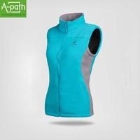 2014 new outdoor hiking jacket winter vest sport for women fleece sleeveless jacket coat gilet colete casual vest waistcoats