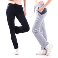 Refined cotton, high quality cultivation zip pocket Guardian pants, leisure sports pants pants female