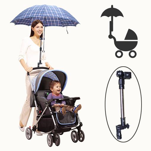 Special shade umbrella stroller umbrella holder bracket pushing a child is no longer afraid of the sun(China (Mainland))