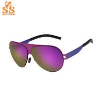 2014 Autumn Latest Superman Style Large Frame Colorful Lenses sunglasses,Pop Retro Face-lift Shade,Cool Lunettes De Soleil G345