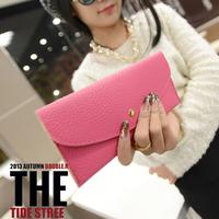 New 2014 special design women's wallets purse fashion clutch wallet purses lady purse female wallet bags woman 16 colors
