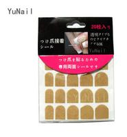 Wholesale false nail sticker nail beauty double-sided adhesive tapes free shipping 100pcs/lot