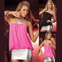 New ! women's club costume sexy nightclub Halter halter dress Slim dress hip dresses club dresses for women  RS-112
