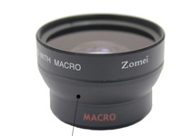 Zomei 37mm 0.45x Wide Angle Lens + Front & Rear Cap