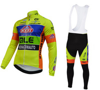 High quality!2014 VINI FANTINI Cycling Jersey Long sleeve and bicycle bib Pants / ropa ciclismo clothing MTB 055