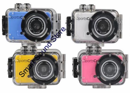 Brand NewHD 720P Resolution Sports DV 20M Waterproof Action Camera Helmet Camcorder Mini Digital DVR M200(China (Mainland))