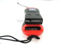 Wholesale 30pcs/lot USB 2.0 Adapter Micro SD Card Reader ,TF Card Reader