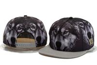2014 new hot  fashion wolf adjustable baseball snapback hats and caps for men women sports hip hop mens womens sun cap 3 colors