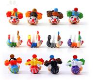 Wholesale high quality resin cartoon Clown. dust plug