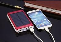 polymer solar power bank 80000mAH Solar Charger 2 Port External Battery Pack