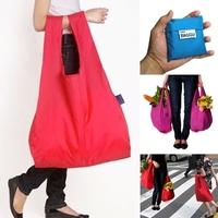2014 Hotest 3pcs/lot Nylon shopping bags fashion handbags  Eco-friendly Reusable Folding Handle shopping bags BG09C