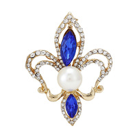 2014 New Elegant Rhinestones Acrylic Tibet Pattern Women Brooches Pins,Wedding dress Pins Mix.$10 Free shipping,