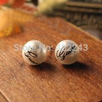 great pearl GG multilayer stud earrings Restoring ancient ways is han edition earrings South Korea earrings female