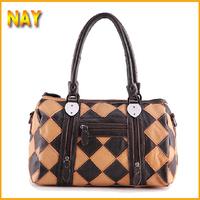 Hot Bags Women Handbag 2014 Fashion Totes Vintage Purse Crossbody Bolsas Patchwork Women Messenger Bag K470A
