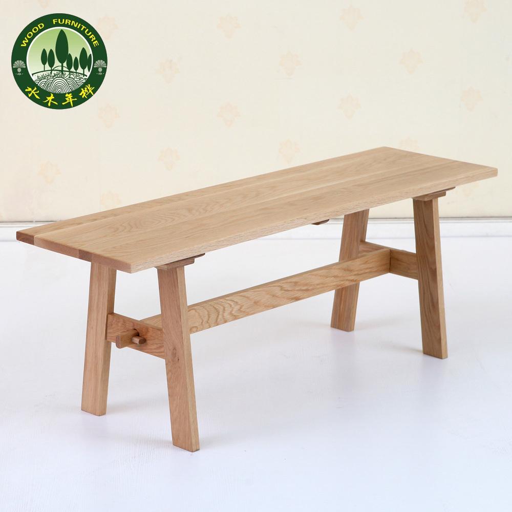 Mizuki In Birch Wood Bar Stools Benches Oak Dining Japanese Restaurant Furniture Wooden Stool