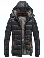 New Arrival Fashion Man Faux Down Jacket Casual Winter Warm Jacket Men
